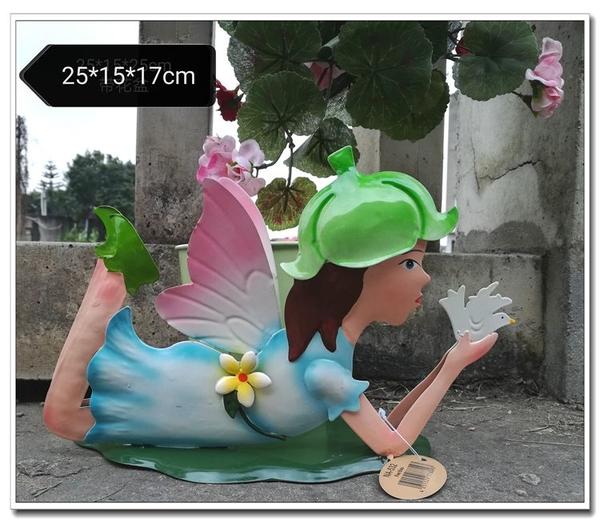戶外陽臺布置入戶花園庭院裝飾擺件園藝雜貨鐵藝動物