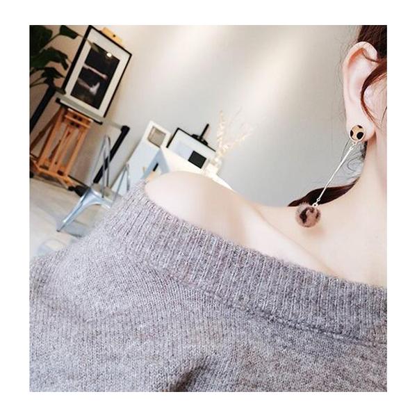 耳環 豹紋 毛球 多樣 造型 氣質 簡約 耳環【DD1711078】 icoca  11/30