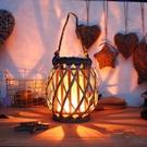燈光老式宮燈燈籠仿古中式裝飾場景室內手提時光竹編發亮古風成。 【快速出貨】