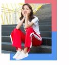 小白鞋女帆布鞋春季新品百搭學生複古港風板鞋女鞋子