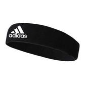 Adidas TENNIS HEADBAND [X17587] 男女 簡約 頭帶 運動 休閒 愛迪達 黑