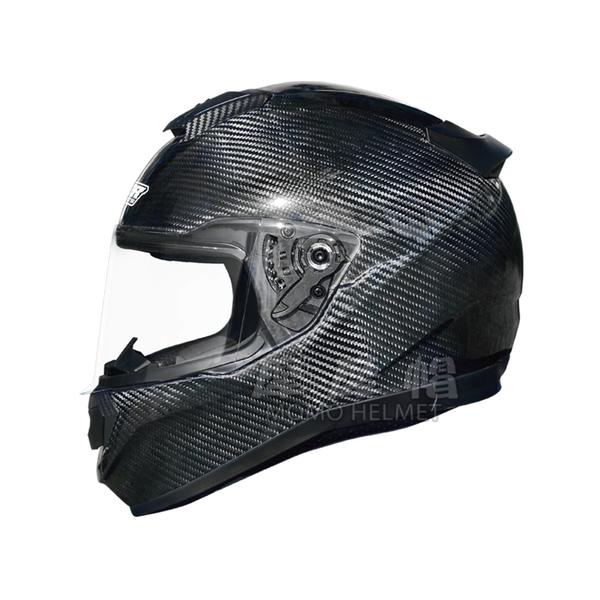 M2R 全罩式碳纖安全帽 《XR-5系列》原色