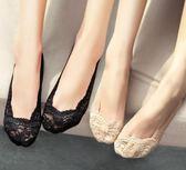 蕾絲襪子船襪女可愛隱形夏薄款防滑短襪