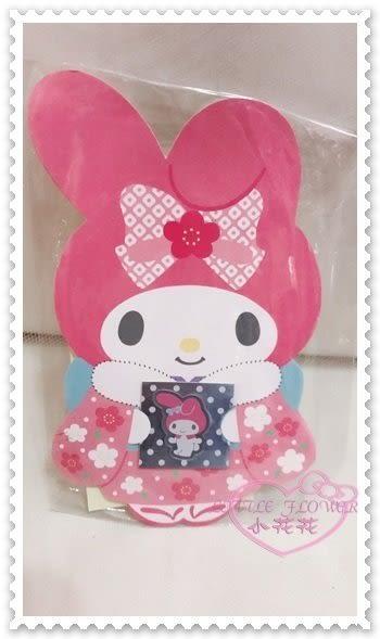 ♥小花花日本精品♥ Hello Kitty 美樂蒂Melody紅包袋過年必備新年必備和服造型站姿粉色 56873603