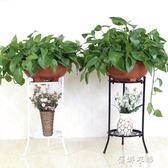 多層鐵藝花架落地客廳陽台室內花盆架簡約歐式綠蘿吊蘭花架YYP  蓓娜衣都