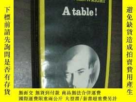二手書博民逛書店法文原版罕見A table!   John Wainwright