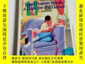 二手書博民逛書店Janet罕見hamm needs a date for the