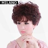 假髮(短髮)-成熟蓬鬆逼真魅力女假髮2色73em14【時尚巴黎】