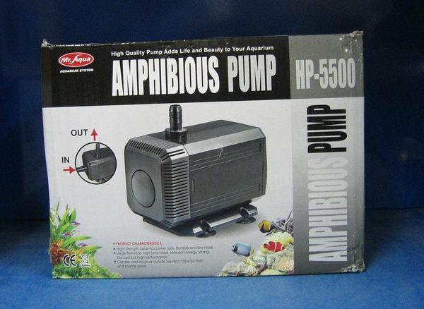 【西高地水族坊】水族先生Mr.Aqua 沉水馬達HP- 5500