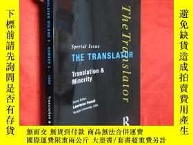 二手書博民逛書店Translation罕見and Minority: Speci