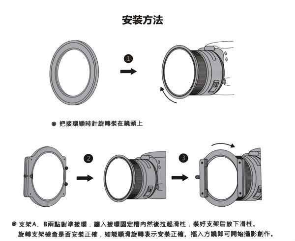 NISI 耐司 100mm V2 二代 濾鏡支架 無暗角 方鏡支架 航空鋁材 附82MM接環 24期0利率