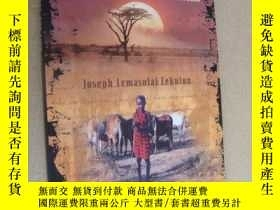 二手書博民逛書店Facing罕見the Lion: Growing up Maasai on the African Sauann