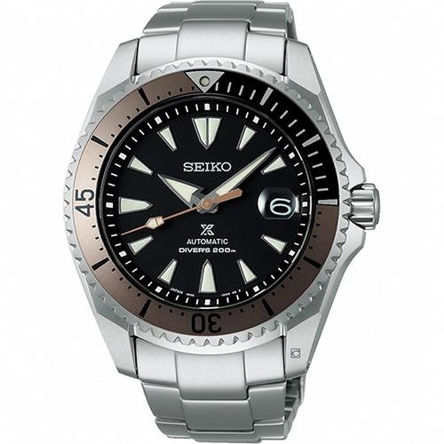 SEIKO精工 Prospex系列「將軍」鈦金屬潛水腕錶(SPB189J1/6R35-01F0B)-43.5mm