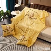 抱枕被子兩用二合一加厚汽車載內辦公室午睡枕頭靠枕靠墊四季通用 NMS怦然新品