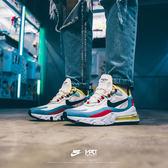 IMPACT Nike Air Max 270 React 白 黃 紅 藍 LuLu 著用款 男女 AT6174-002