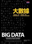 (二手書)大數據 「數位革命」之後,「資料革命」登場:巨量資料掀起生活、工作和思考..