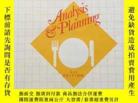 二手書博民逛書店《Menus:罕見Analysis and planning》(英語:菜單:分析和規劃) 1984年,16開硬精裝