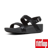 【FitFlop】LOTTIE CHEVRON-SUEDE BACK-STRAP SANDALS(黑色)