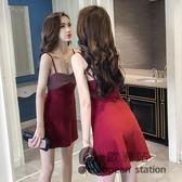 細肩帶洋裝/夜場女裝性感氣質女新款名媛抹胸短裙子吊帶露背低胸連身裙夏「歐洲站」