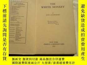 二手書博民逛書店the罕見white monkey【毛邊本】Y8204