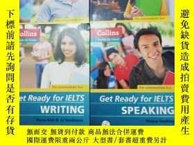 二手書博民逛書店Collins罕見Get Ready for IELTS Speaking(Collins English for