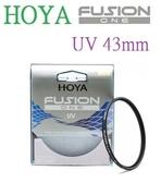 【聖影數位】HOYA 43mm Fusion One UV 抗紫外線保護鏡 取代HOYA PRO1D系列