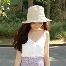 防曬遮陽棉麻漁夫帽-2色【OT151】
