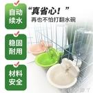 佩利安懸掛式寵物飲水器貓狗喝水碗喂水器掛式狗籠固定自動飲水壺 NMS蘿莉小腳丫