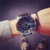 時尚潮流大錶盤潮牌男生手錶男士超大潮男錶青少年中學生個性潮錶 【好康八九折】