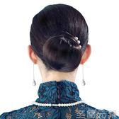Wigs2you假髮新品 新娘小髮包時尚 盤髮髮髻復古花苞頭簡約丸子頭  至簡元素