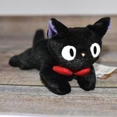 魔女宅急便 小黑貓 ジジ吉吉 玩偶 日本正版 宮崎駿 含尾巴約24cm