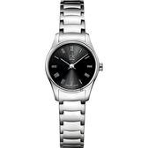Calvin Klein CK Classic 極簡羅馬女錶-黑x銀/24mm K4D2314Y