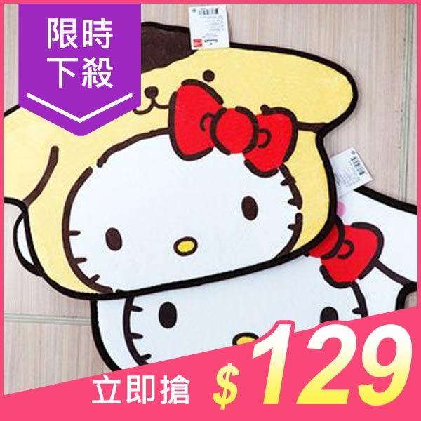 Hello Kitty & 布丁狗/Hello Kitty & 大耳狗 造型地墊(1入) 款式可選【小三美日】原價$149