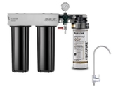 愛惠浦EVERPURE PurVive-Duo OCS2 + UF-01 +RES-800 銀離子抑垢家用型淨水器3管 ~ 含標準安裝