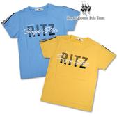 文字圖案 短袖上衣 棉T恤 *2色[3021-8] RQ POLO 中大童 120-170碼 春夏 童裝 現貨