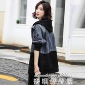 牛仔外套 2020春秋季韓版新款牛仔外套女裝中長款休閒寬鬆bf百搭風衣 17店