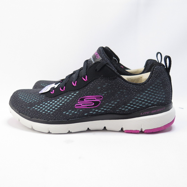 Skechers FLEX APPEAL 3.0 女款 慢跑鞋 13475BBLP 黑【iSport愛運動】