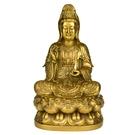 純銅觀音菩薩佛像擺件