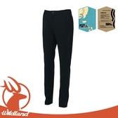 【Wildland 荒野 女 彈性四季款合身長褲《黑》】S2377/休閒長褲/休閒機能褲/運動褲