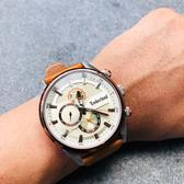 Timberland 天柏嵐 大地系列 日曆功能手錶-46mm TBL.15953JSTBN/04