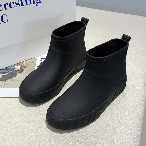 防滑日系時尚雨鞋女冬防滑