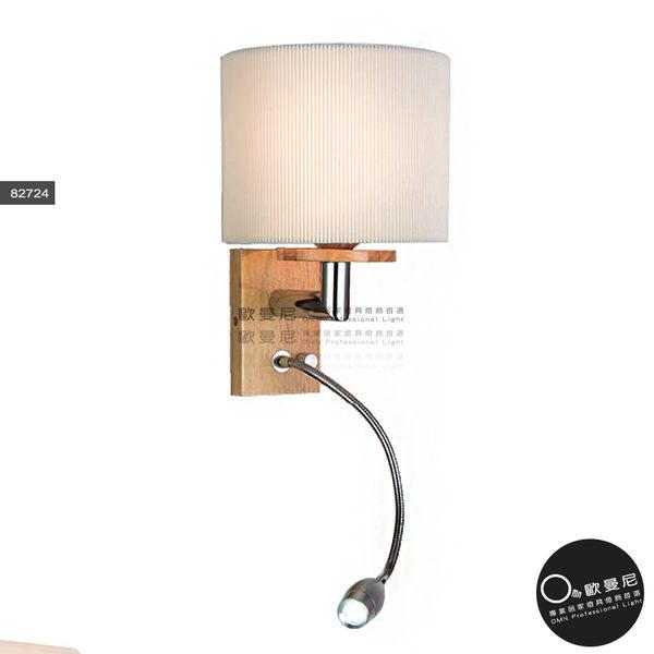 壁燈★木藝生活 原木簡約造型 附小燈頭 壁燈✦燈具燈飾專業首選✦歐曼尼✦