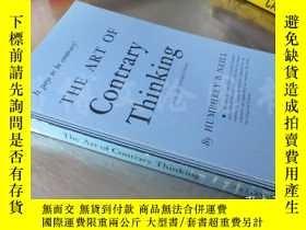二手書博民逛書店The罕見Art of Contrary Thinking【32開 英文原版】Y16472 Humphrey