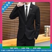 男士西服套裝 小西裝一套學生休閒結婚禮服 正裝伴郎服