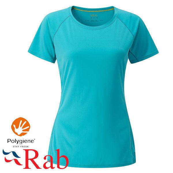 Rab 英國 QBU45-TA 塔斯曼海 女抗菌排汗短T恤Aerial Tee
