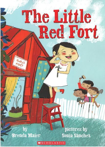 【麥克書店】THE LITTLE RED FORT/ 英文繪本《主題:禮儀》