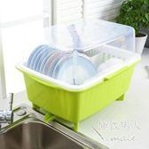 帶蓋加厚塑料碗置物架LVV1047【極致男人】