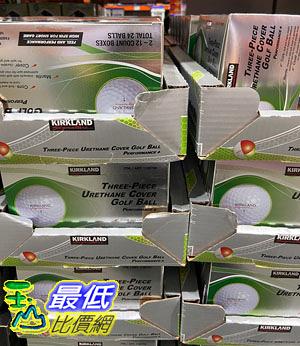 [COSCO代購] C1180702 KIRKLAND SIGNATURE 3-PIECE GOLF BALL 2 DOZEN 三層高爾夫球24入