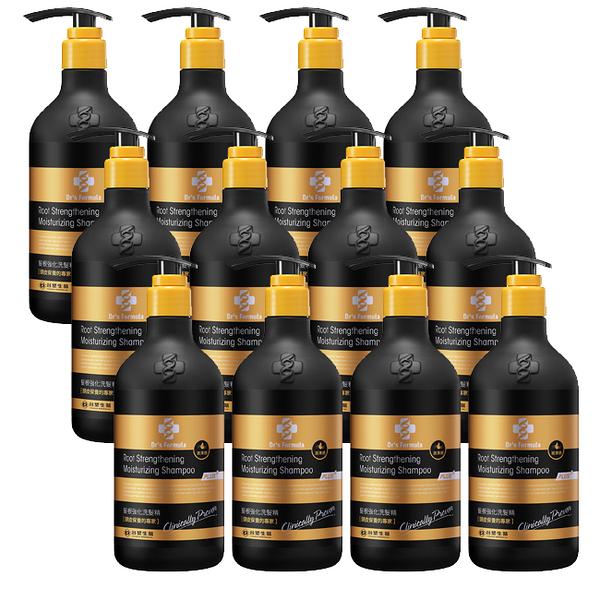 《台塑生醫》Dr's Formula髮根強化洗髮精-潤澤感(升級版)580g*12入
