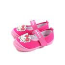 Hello Kitty 凱蒂貓 娃娃鞋 桃紅色 中童 童鞋 720957 no825